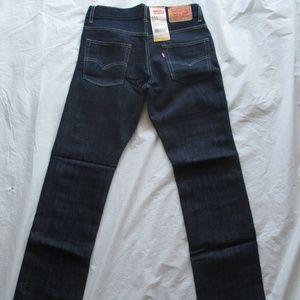 Levi's 511 Boys 91R511 945 Slim Fit Pitch Dark